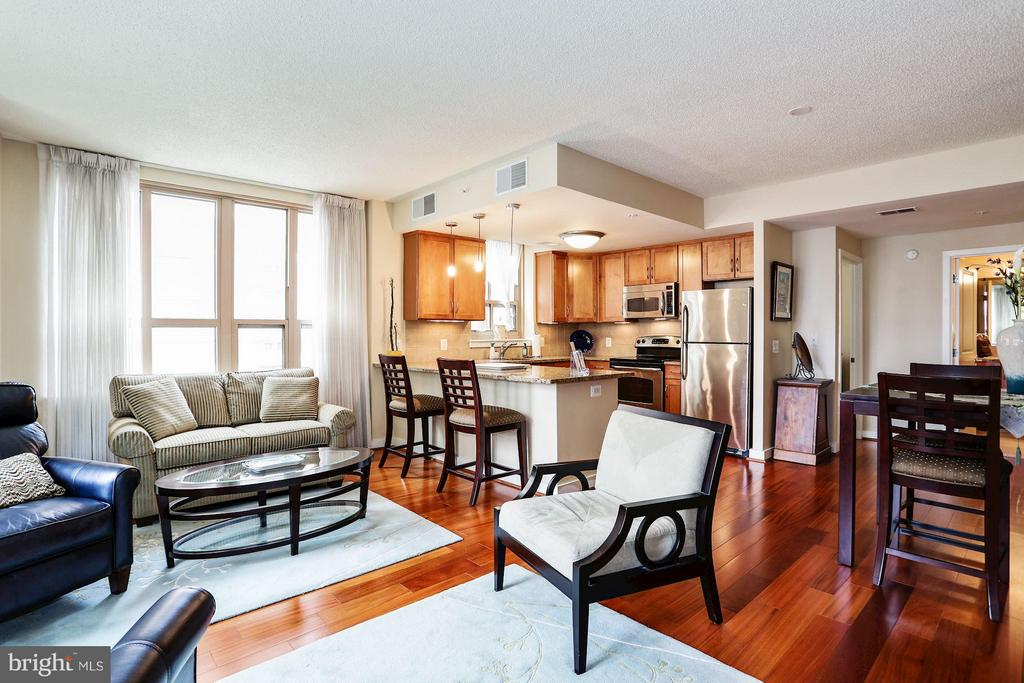 Living Room - 888 QUINCY ST #401, ARLINGTON