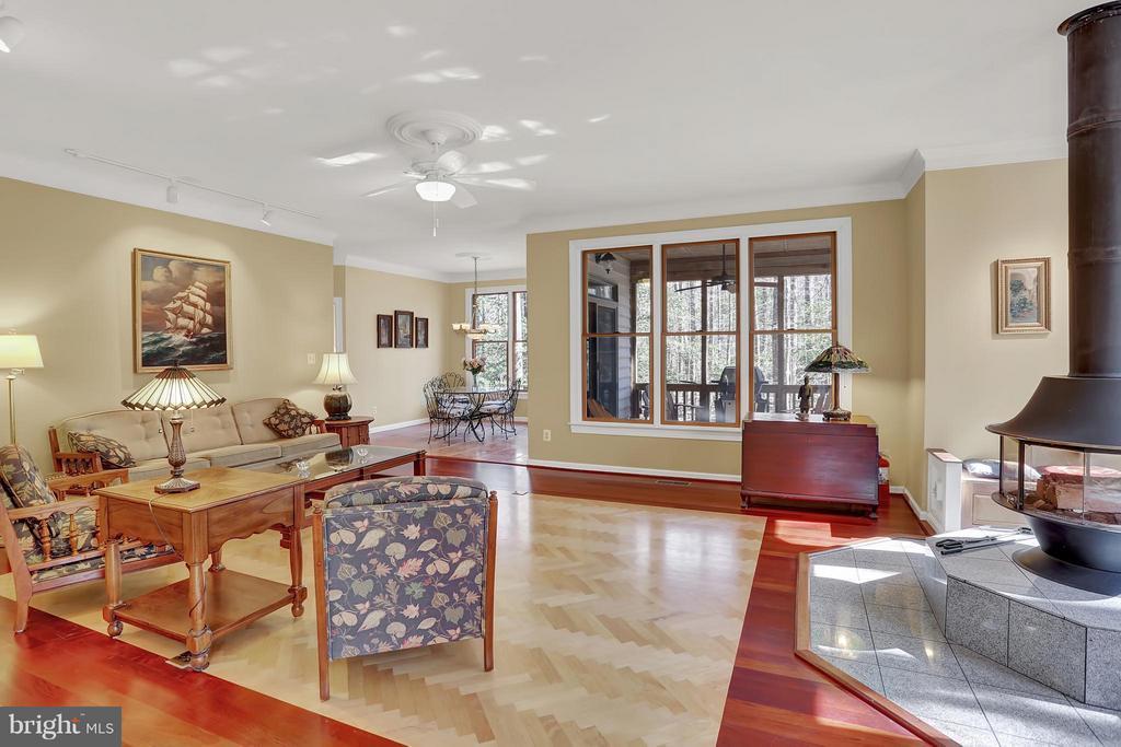 Living Room - 11727 LAKEWOOD LN, FAIRFAX STATION