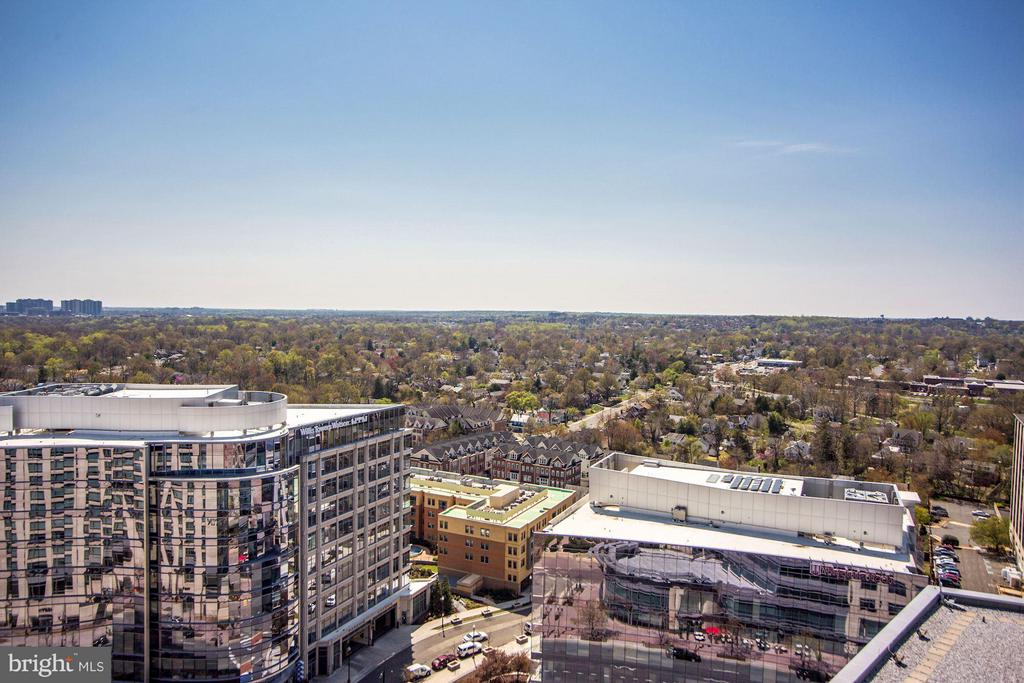 Panoramic views! - 851 GLEBE RD #1518, ARLINGTON