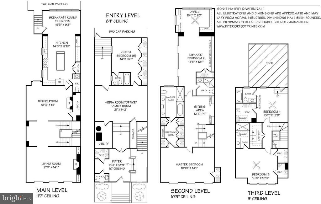 Floor plans available - 1821 23RD ST NW, WASHINGTON
