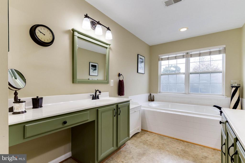 Master Bath with soaking tub - 17296 CEDAR BLUFF CT, ROUND HILL