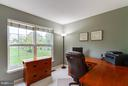 Office with views of the back yard oasis - 17296 CEDAR BLUFF CT, ROUND HILL