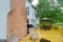 Brand new deck - 17296 CEDAR BLUFF CT, ROUND HILL