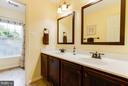 Upper level hall Bath - 17296 CEDAR BLUFF CT, ROUND HILL