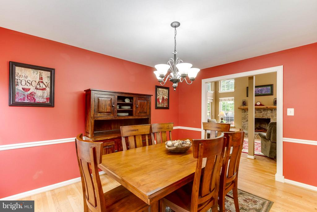 Formal Dining Room - 17296 CEDAR BLUFF CT, ROUND HILL