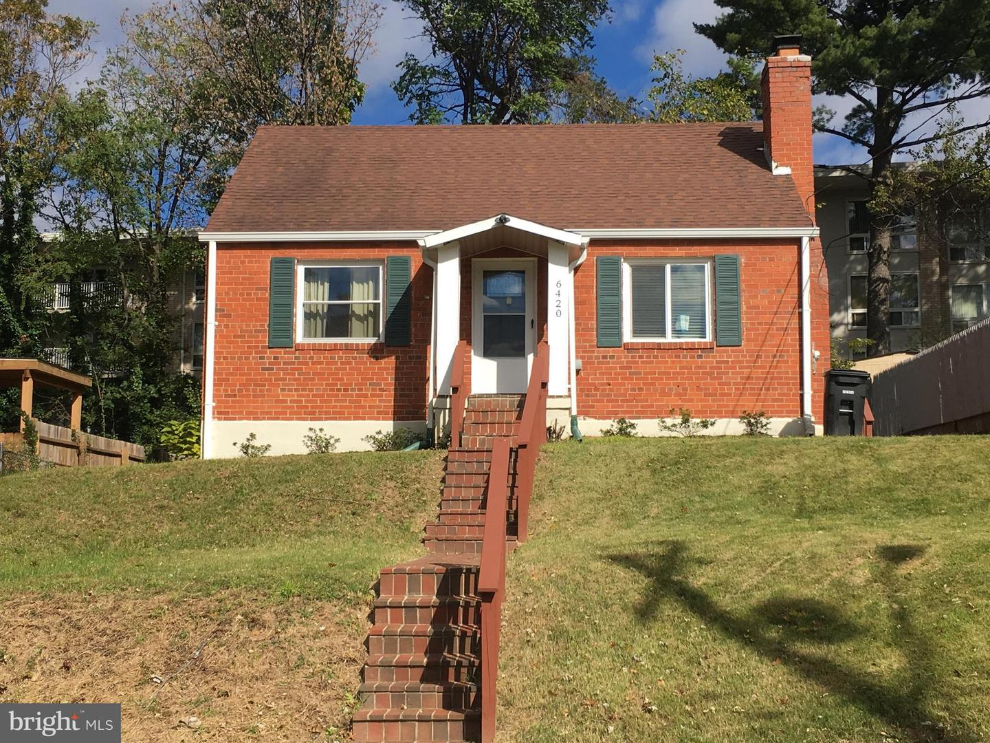 Single Family for Sale at 6420 Kilmer St Cheverly, Maryland 20785 United States