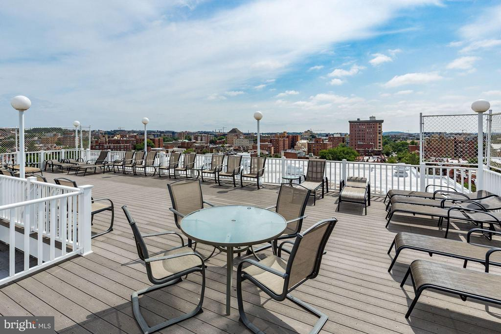 Roof Top Deck (2 of 2) - 1601 18TH ST NW #807, WASHINGTON