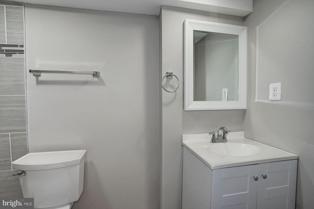 Basement Bath - 4935 NEW HAMPSHIRE AVE NW, WASHINGTON