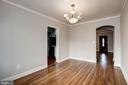 Dining Room - 4935 NEW HAMPSHIRE AVE NW, WASHINGTON