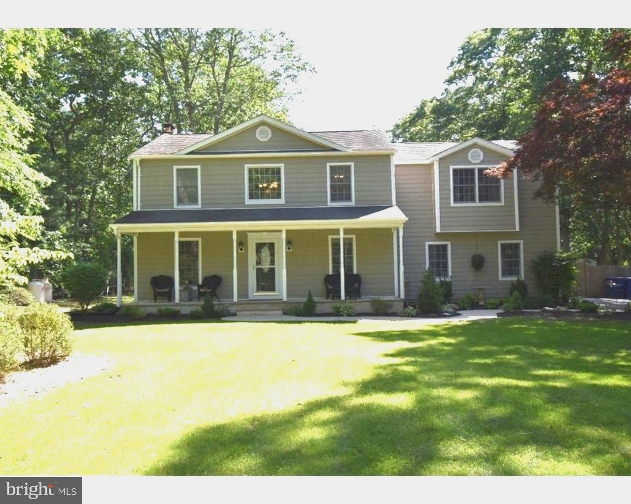 Частный односемейный дом для того Продажа на 11 PLYMOUTH Court Tabernacle Twp, Нью-Джерси 08088 Соединенные Штаты