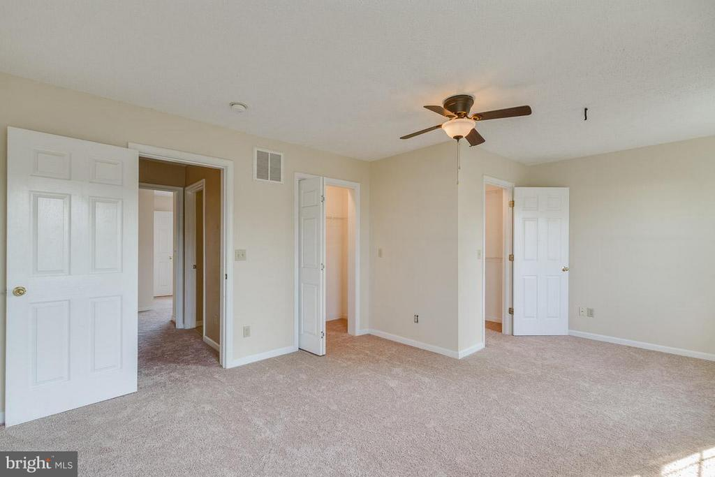 Large Master w/Two Closets - 319 COPPERFIELD LN, WINCHESTER