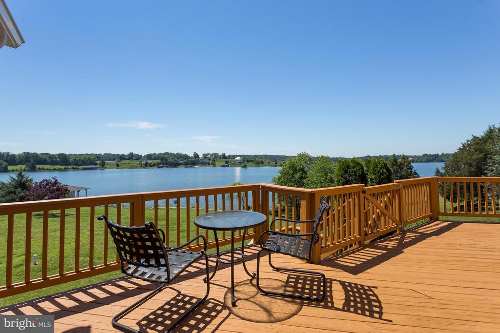Outstanding Lake Views from deck. - 5807 BLUE RIDGE RD, MINERAL