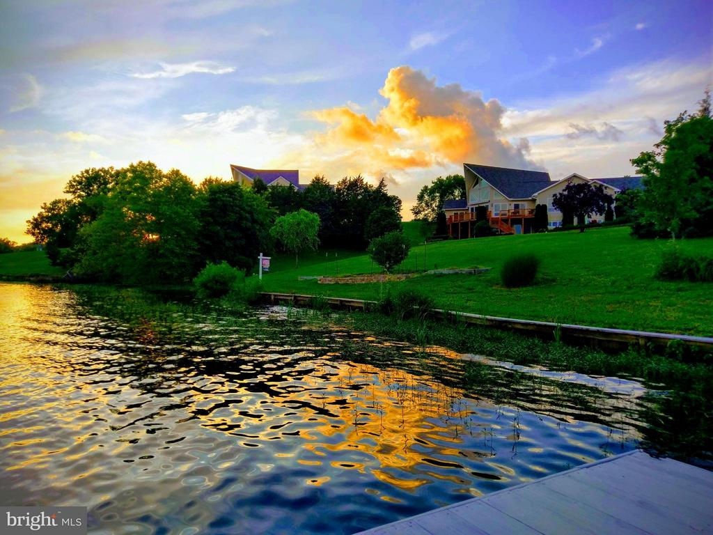 Beautiful Sunsets taken from dock looking at home! - 5807 BLUE RIDGE RD, MINERAL