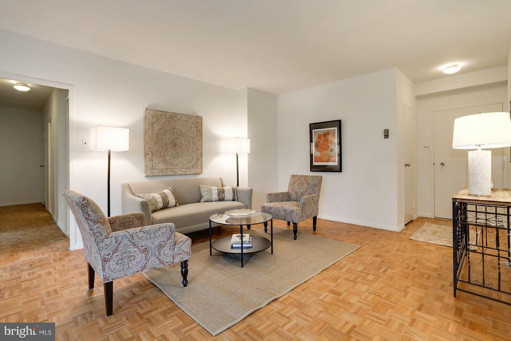 Living Room - 3900 WATSON PL NW #G1C-B, WASHINGTON