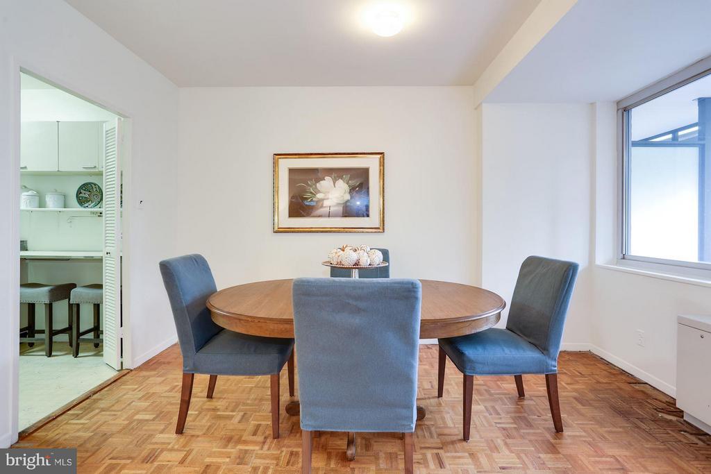 Dining Room - 3900 WATSON PL NW #G1C-B, WASHINGTON