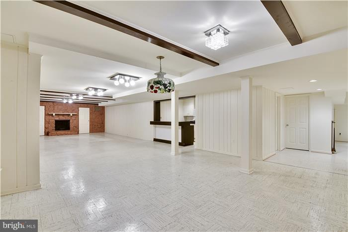 Lower level family/recreation room - 11208 STEPHALEE LN, ROCKVILLE