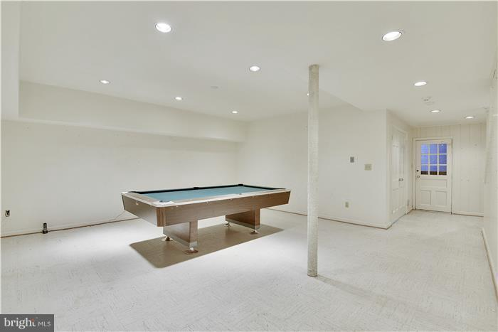 Lower level game room - 11208 STEPHALEE LN, ROCKVILLE