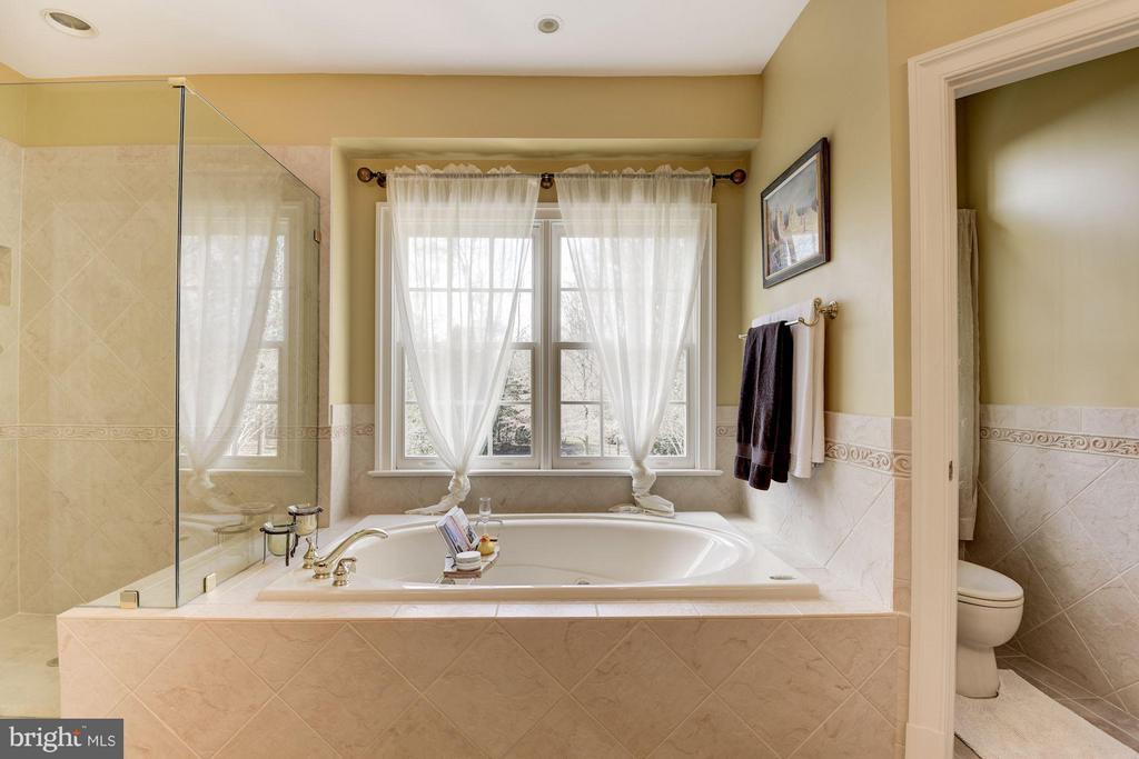 Bath (Master) - 11203 GUNSTON RD, LORTON