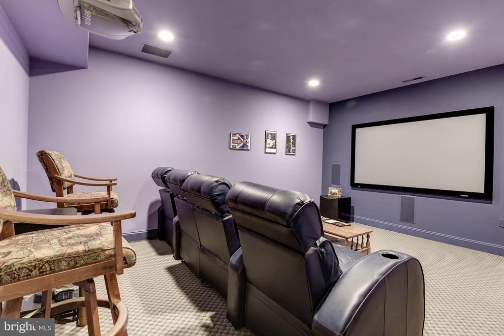 Interior (General) Media Room - 11203 GUNSTON RD, LORTON