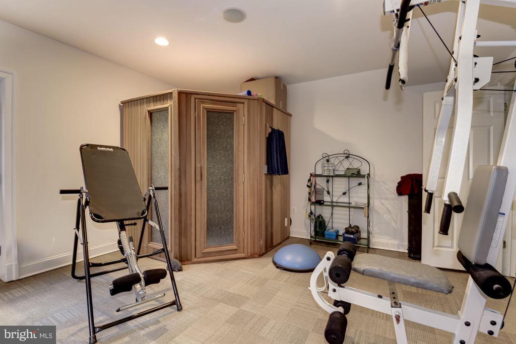 Workout & Sauna Room Exits to Pool - 11203 GUNSTON RD, LORTON