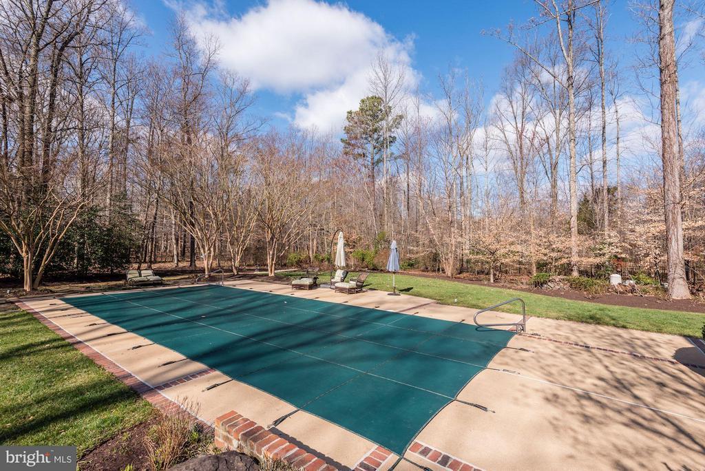 Large Heated Pool, perfect for entertaining - 11203 GUNSTON RD, LORTON