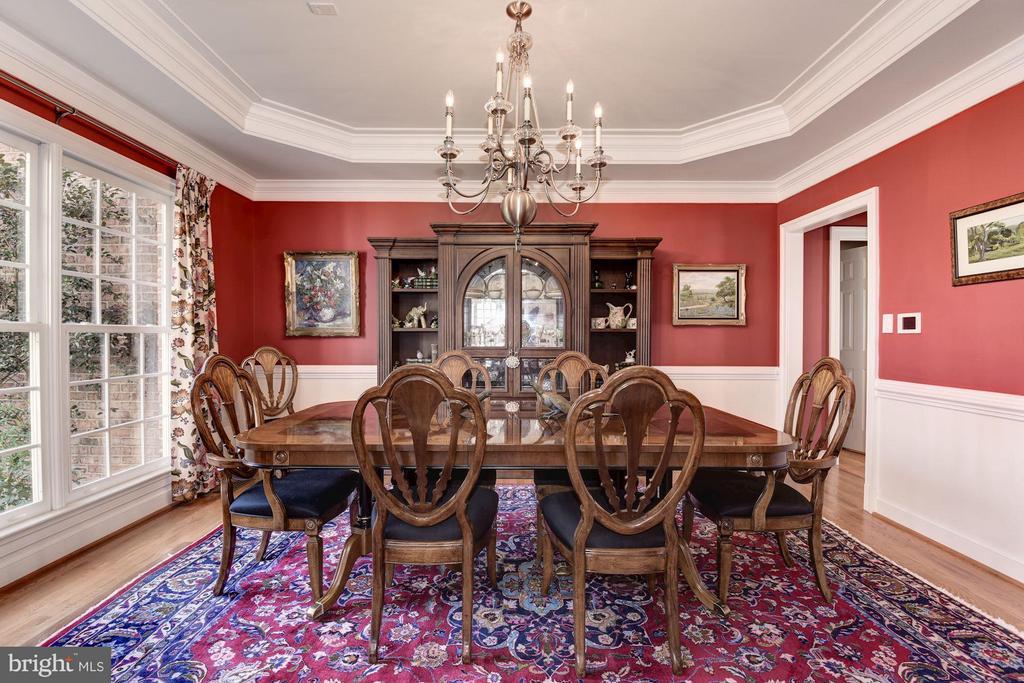 Formal Dining Room - 11203 GUNSTON RD, LORTON