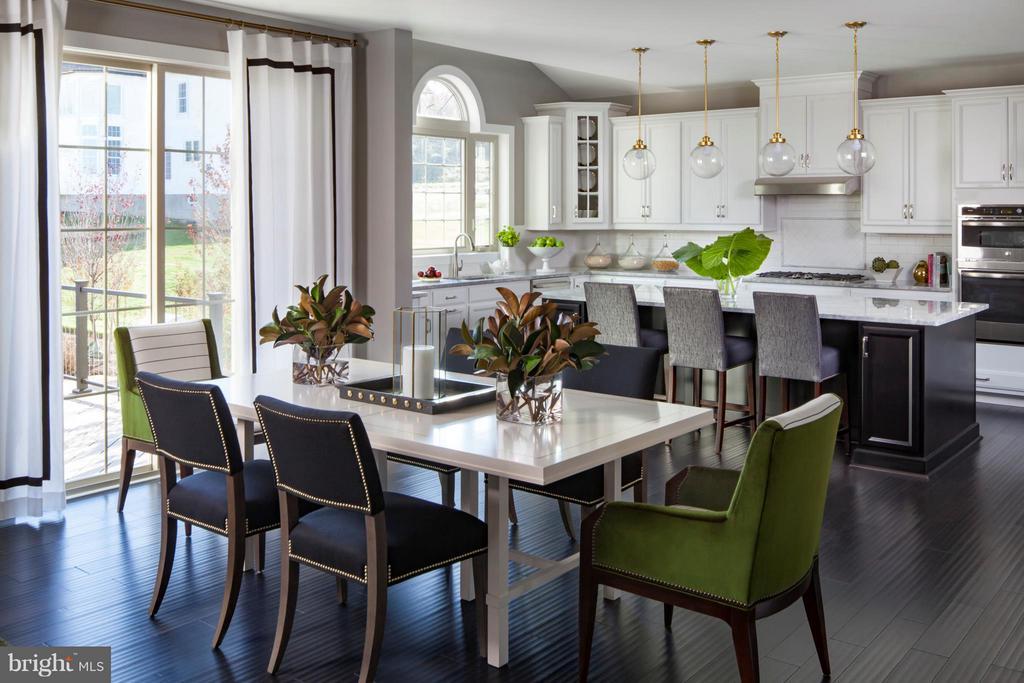 Duke Kitchen-Breakfast Area - 4602 BRIDLE RIDGE RD, UPPER MARLBORO