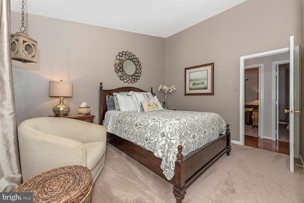Main level Master bedroom. - 10801 N GLADE CT, NEW MARKET