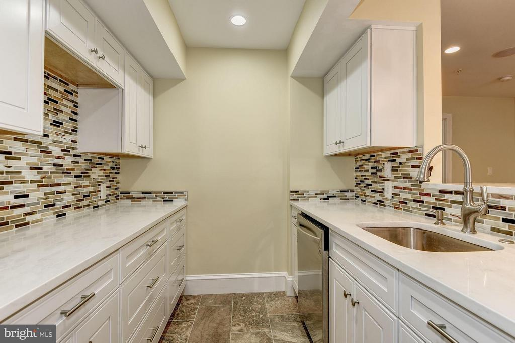 In-law kitchenette w/stainless steel appliances - 1728 P ST NW, WASHINGTON