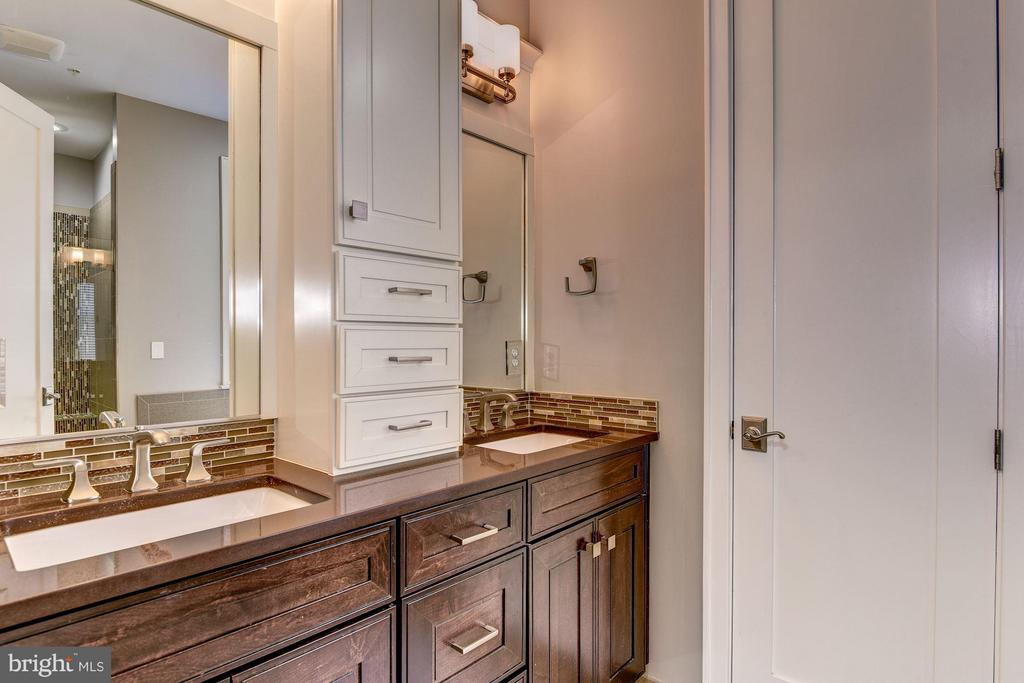 Elegantly designed master bathroom - 1728 P ST NW, WASHINGTON