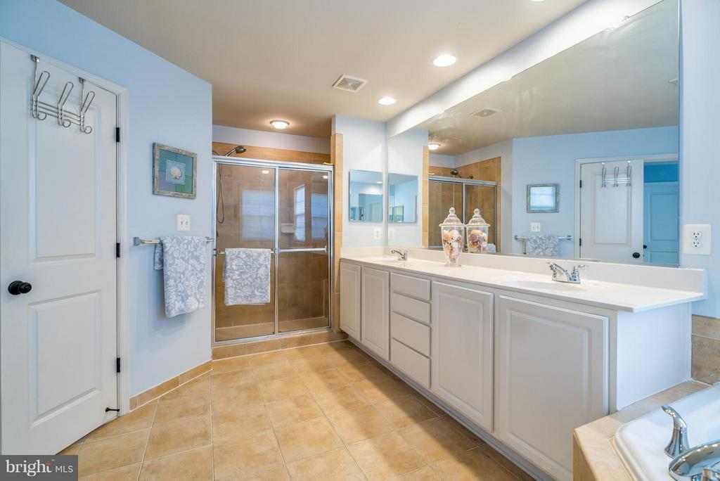 Luxurious Separate Shower and Double Vanities - 42730 EXPLORER DR, ASHBURN