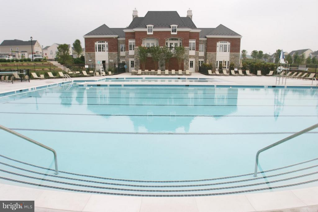 1 of 5 community pools. - 42730 EXPLORER DR, ASHBURN