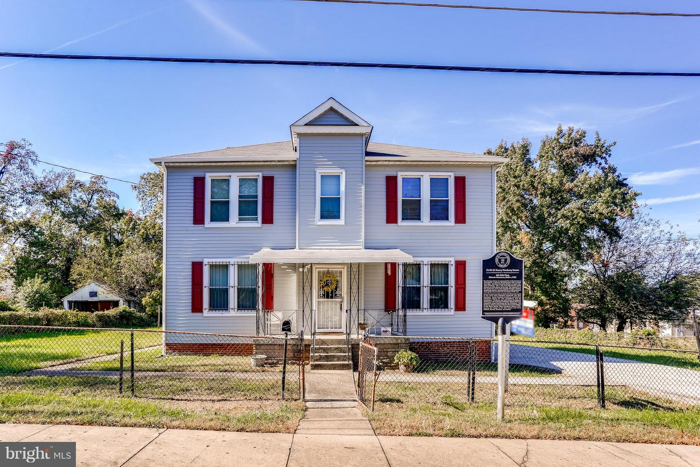 Single Family for Sale at 608 60th Pl Fairmount Heights, Maryland 20743 United States