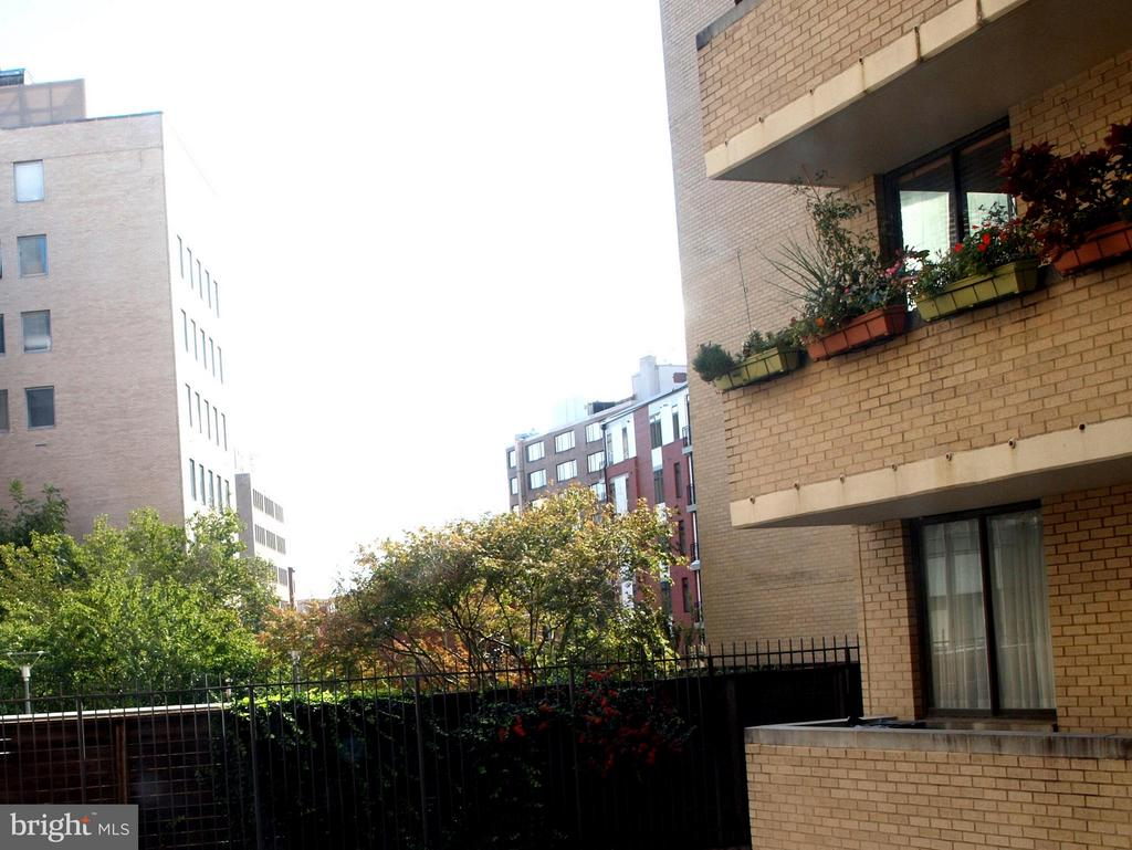 Balcony view - 1325 18TH ST NW #207, WASHINGTON