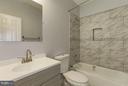 Second Floor Hall Bath - 6102 KOLB ST, FAIRMOUNT HEIGHTS