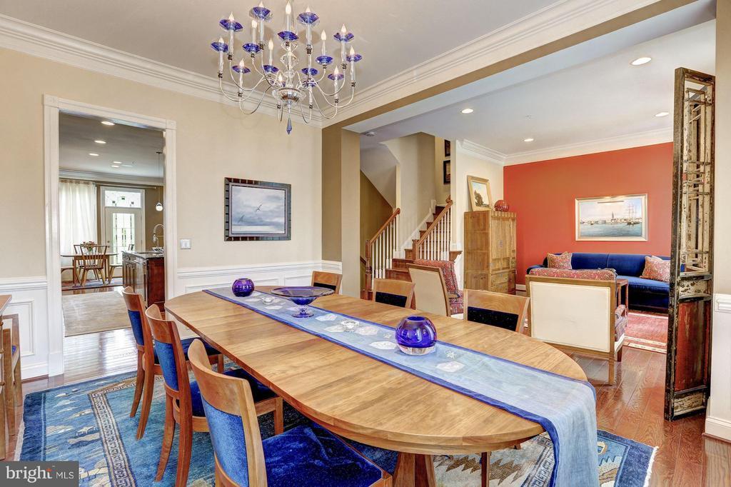 Main Level - Dining Room - 1403 RIDGEVIEW WAY NW, WASHINGTON