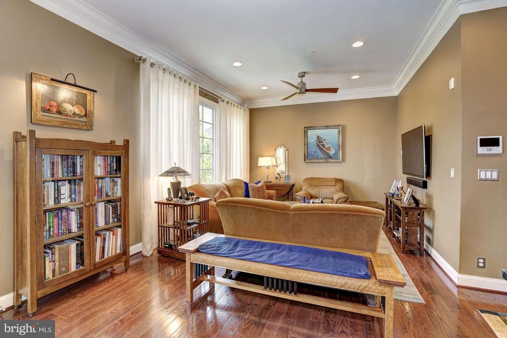 Main Level - Family Room - 1403 RIDGEVIEW WAY NW, WASHINGTON