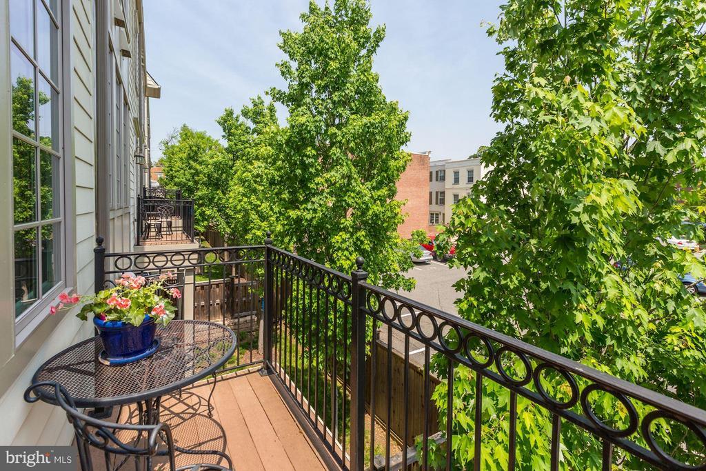 Balcony - 1403 RIDGEVIEW WAY NW, WASHINGTON