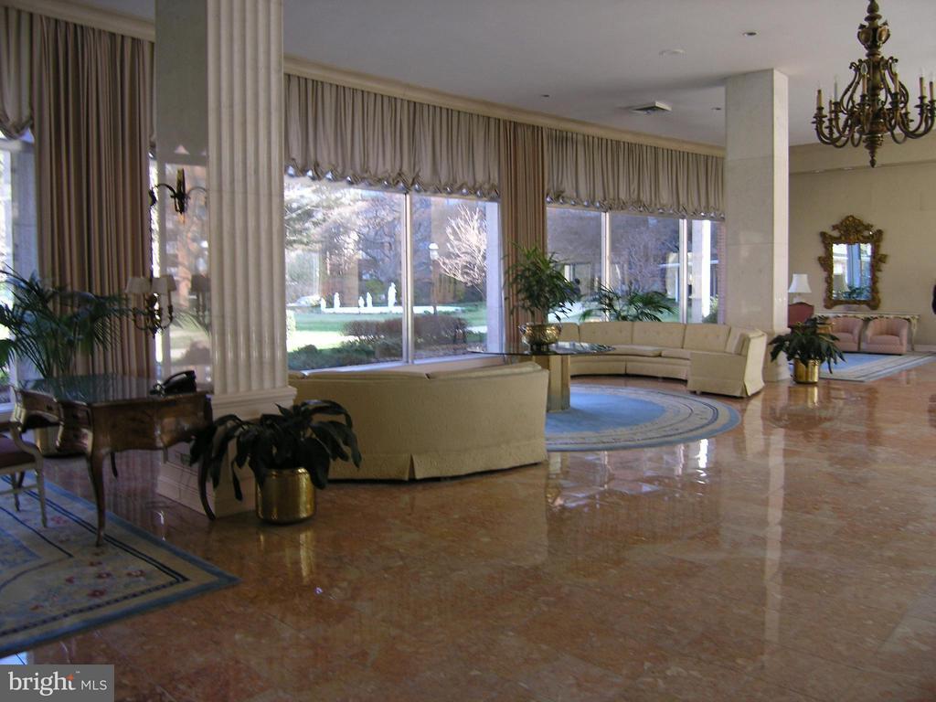 Elegant lobby - 4201 CATHEDRAL AVE NW #907W, WASHINGTON