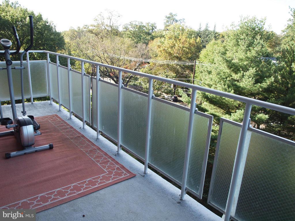 Balcony - 4201 CATHEDRAL AVE NW #907W, WASHINGTON