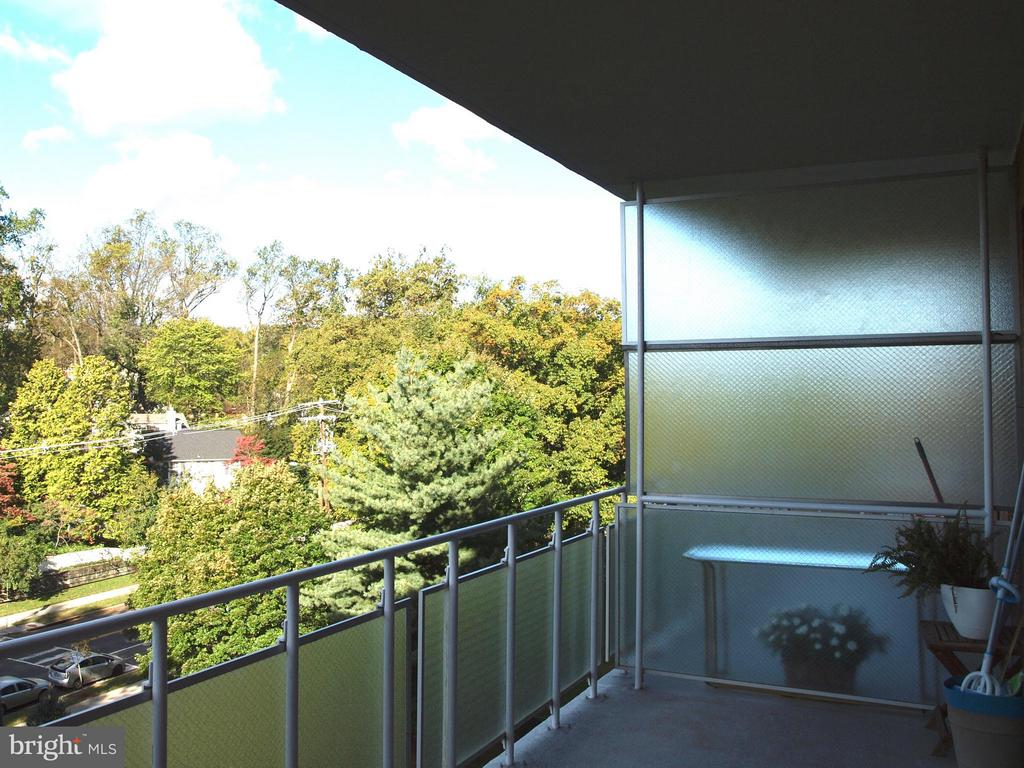 Balcony view - 4201 CATHEDRAL AVE NW #907W, WASHINGTON