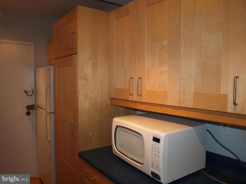 Handsome kitchen cabinets - 4201 CATHEDRAL AVE NW #907W, WASHINGTON