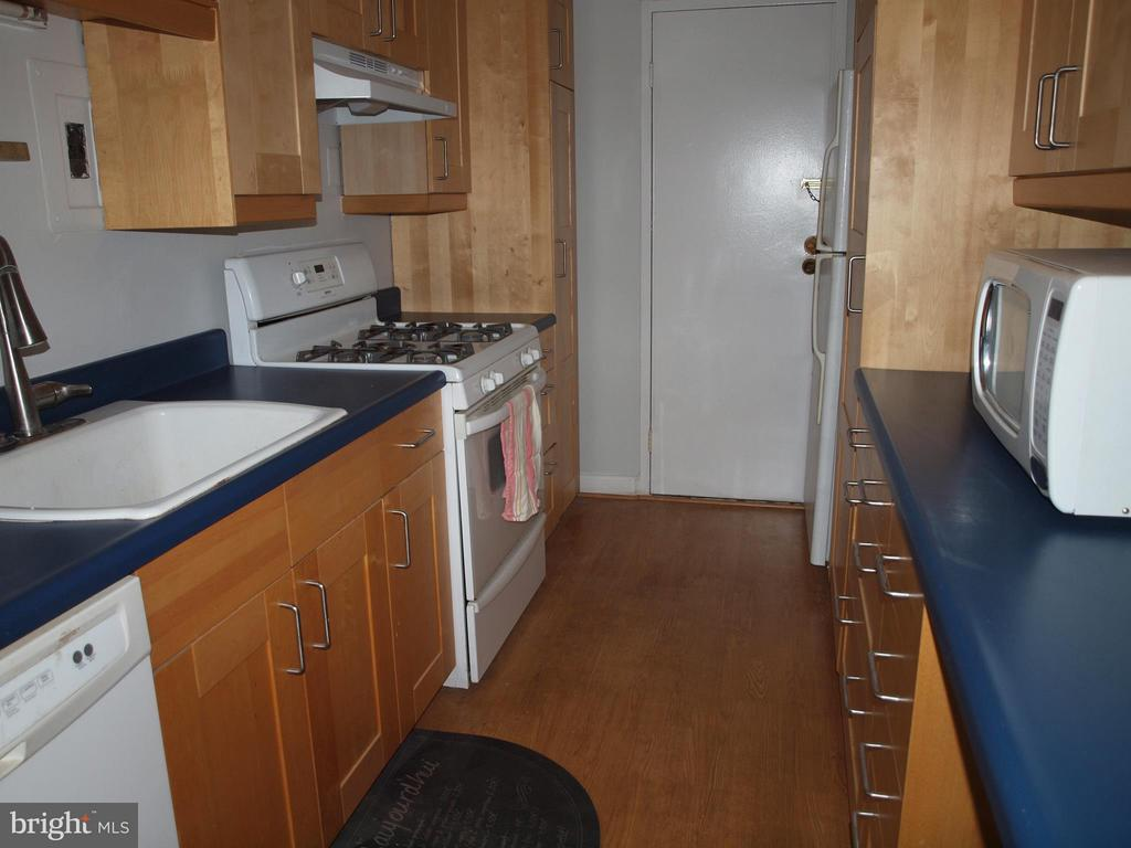 Updated kitchen with handsome cabinetry - 4201 CATHEDRAL AVE NW #907W, WASHINGTON