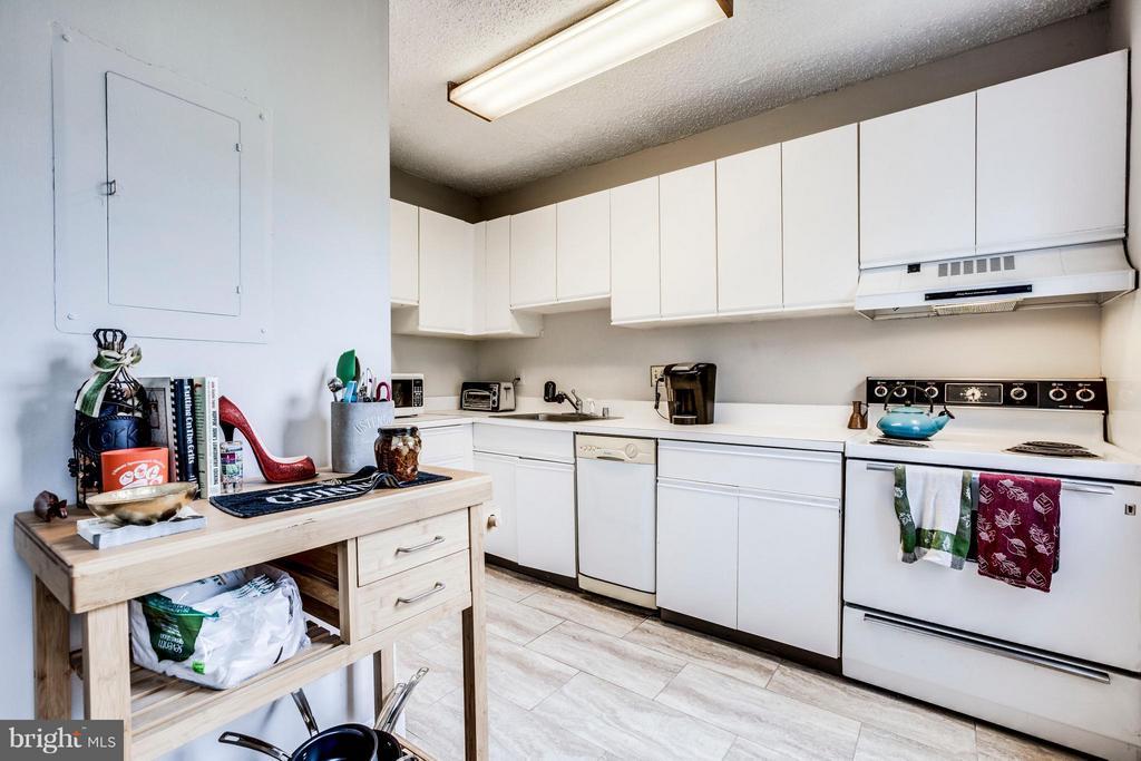 Kitchen - 1810 ABINGDON DR #202, ALEXANDRIA