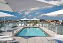Rooftop pool and sundeck - 1177 22ND ST NW #9F, WASHINGTON