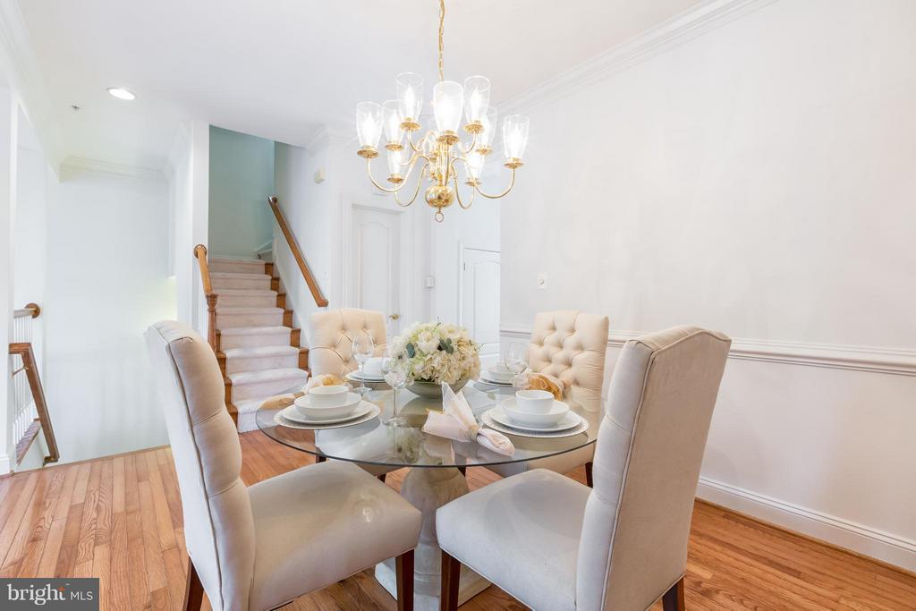 Dining Room - 7447 CARRIAGE HILLS DR, MCLEAN