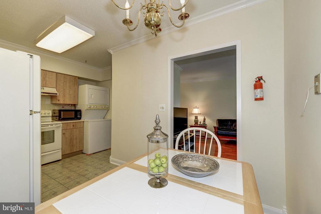 Kitchen - 1805 CRYSTAL DR #602S, ARLINGTON