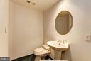 Powder room off of foyer - 5600 WISCONSIN AVE #803, CHEVY CHASE