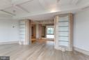 Living Room w/ built-in cabinetry - 5600 WISCONSIN AVE #803, CHEVY CHASE