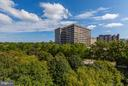 View from balcony - 5600 WISCONSIN AVE #803, CHEVY CHASE
